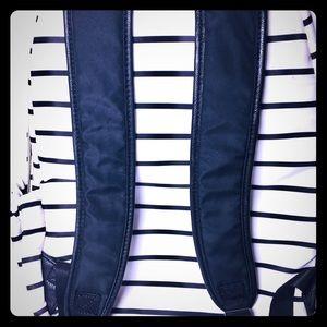 Betsey Johnson Backpack Black & White Stripes
